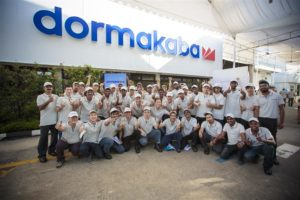 LAUNCH OF DORMAKABA LOGO